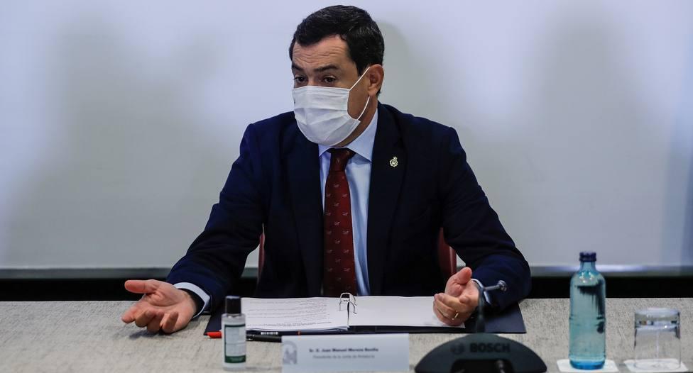 Juanma Moreno anuncia el cierre de Andalucía y el confinamiento de Sevilla y Jaén