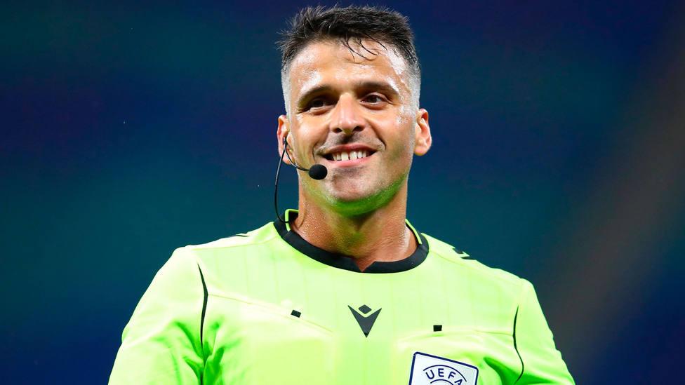 Jesús Gil Manzano, del Colegio Extremeño y árbitro FIFA. CORDONPRESS