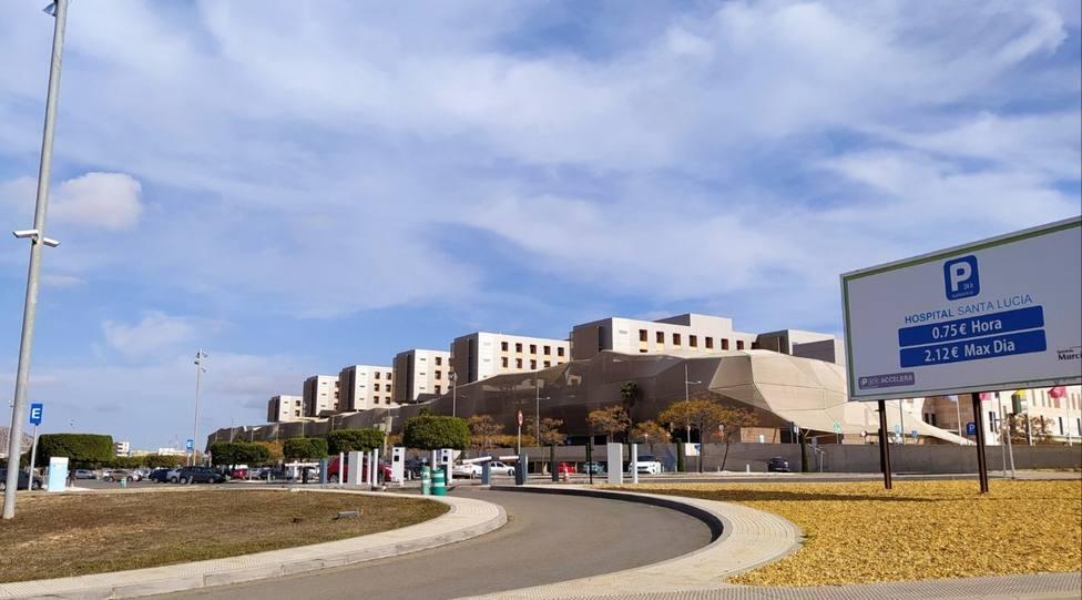 El aparcamiento del Santa Lucía será gratuito para sanitarios pacientes y cuidadores en 2024
