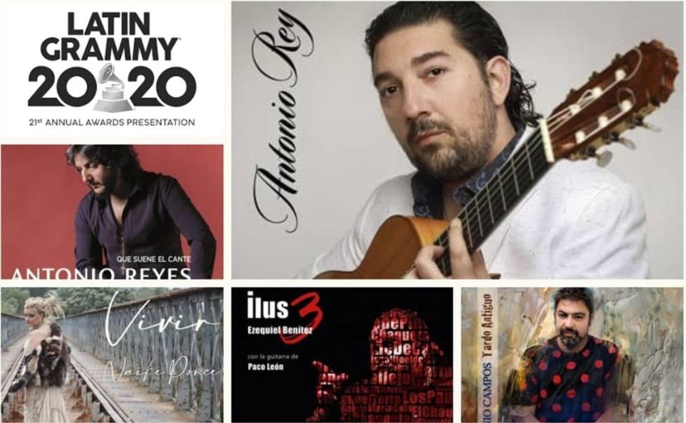 El guitarrista Antonio Rey se trae a Jerez el Grammy al Mejor Album Flamenco