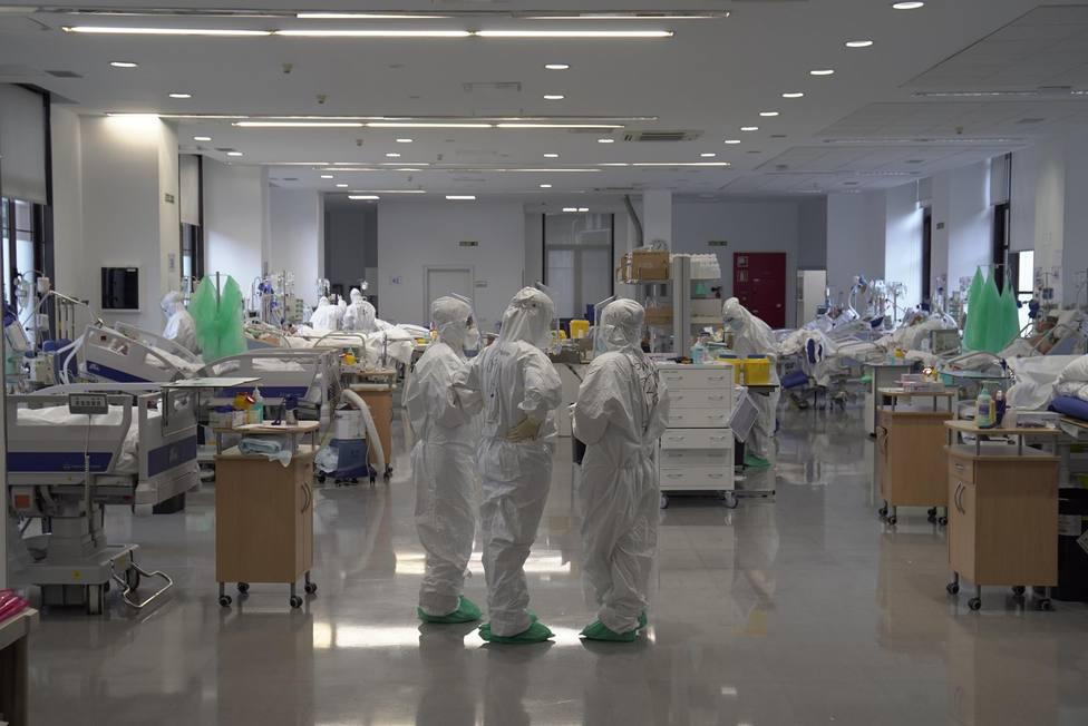 El Hospital Valdecilla sigue atendiendo sin descanso a todos los enfermos por COVID
