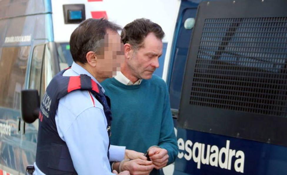 José antonio Ortiz Cambray siendo detenido en marzo de 2019