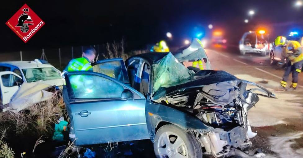 Fallece una joven en un accidente de tráfico en Agost (Consorcio Provincial)
