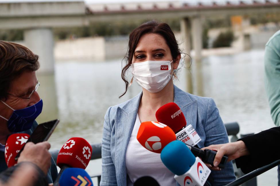 Ayuso, sobre la lista de manteros, okupas y agresores de Iglesias: Madrid no es eso