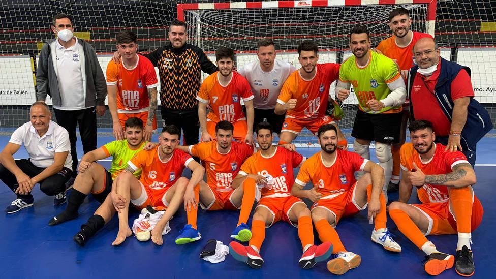 El Eneluz Mutrayil de fútbol sala jugará los play off de ascenso a Segunda División B