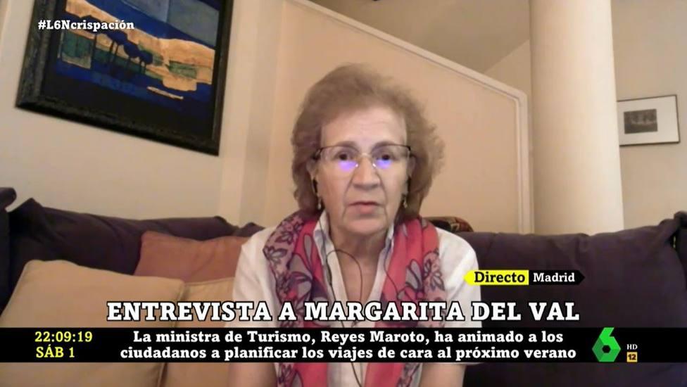 Margarita del Val avisa en La Sexta de su nueva preocupación con las vacunas: No me atrevo