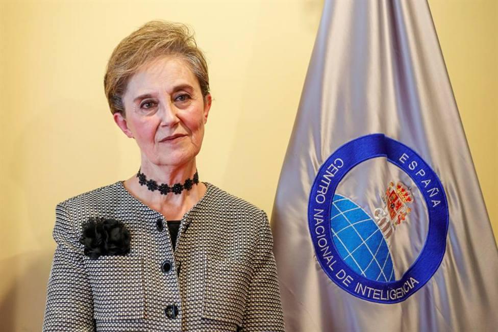 Al actual presidenta del CNI, Paz Esteban