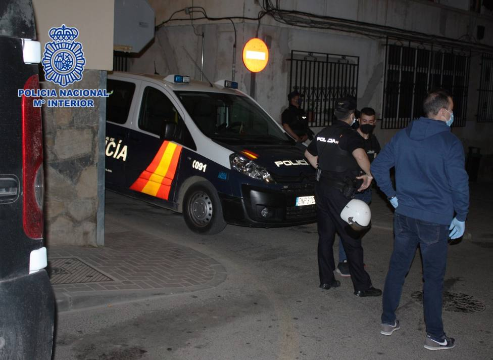 La Policía Nacional acaba con el principal entramado criminal encargado del tráfico drogas al menudeo en Lorca