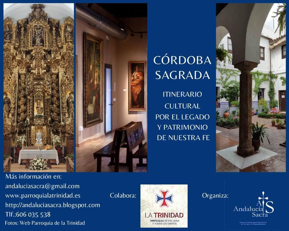 Conoce los Itinerarios para conocer la historia devocional y artística de Córdoba