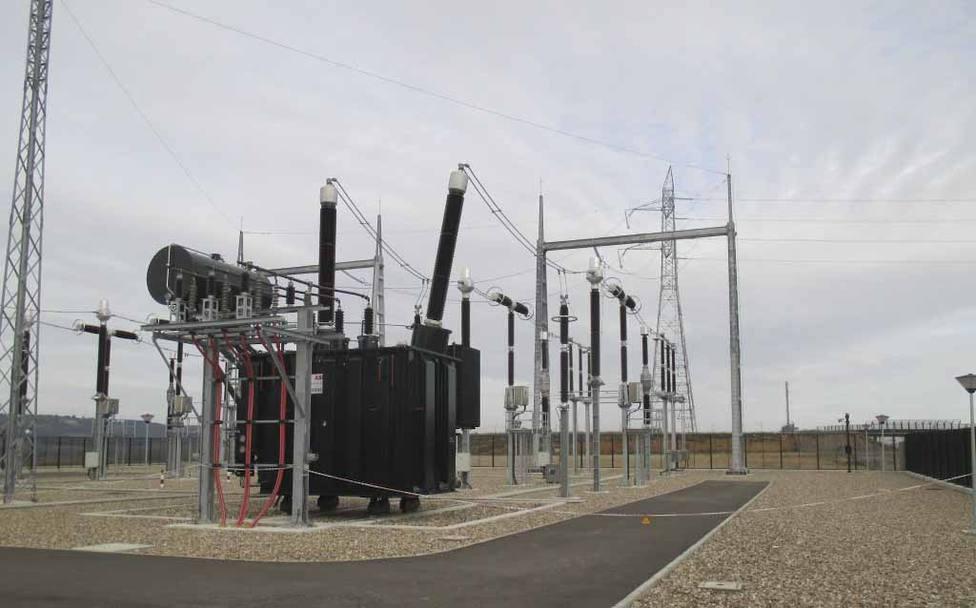 Subestación eléctrica de Dueñas