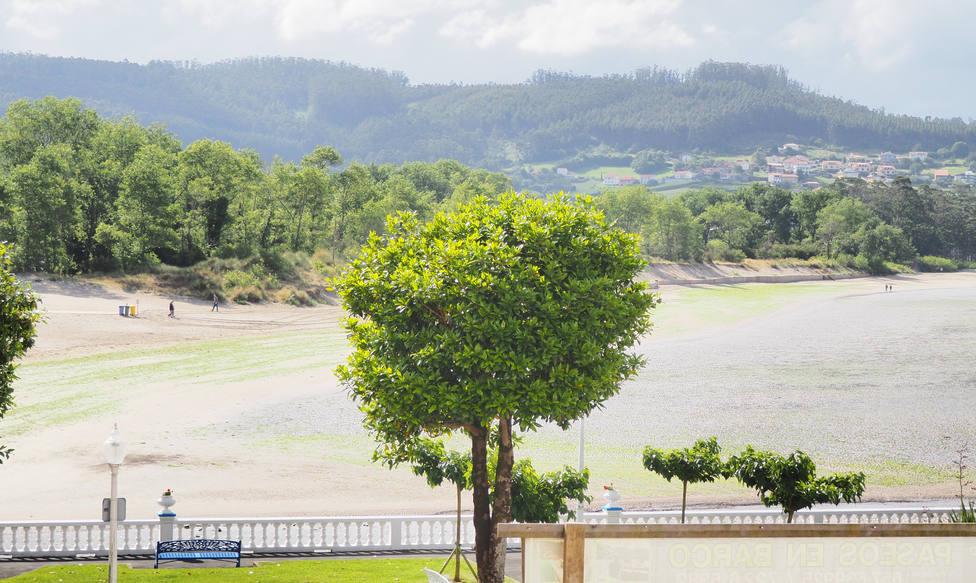 El arenal de Cedeira contará esta año con protección para los bañistas - FOTO: Concello de Cedeira