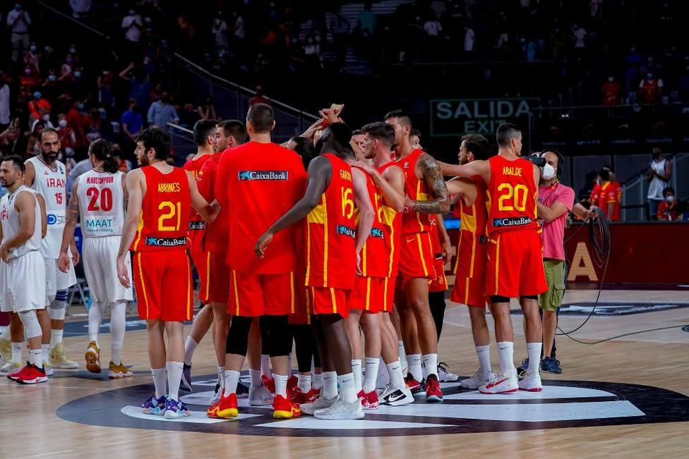 Imagen de la Selección Española de baloncesto