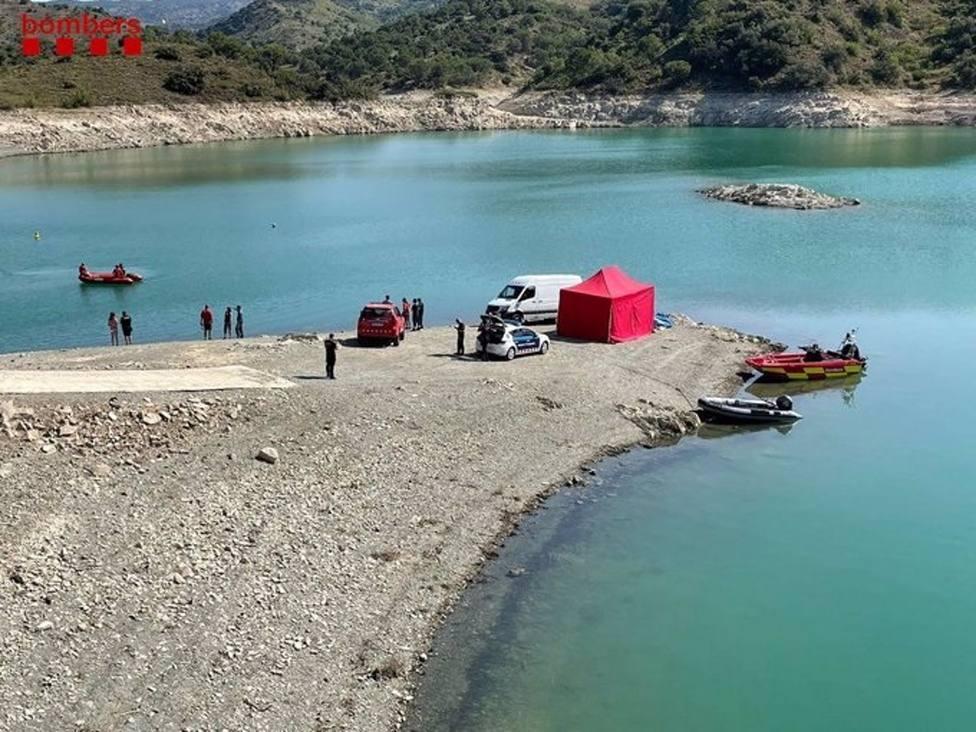 Búsqueda este sábado 10 de julio del joven desaparecido en el pantano de Siurana (Tarragona)