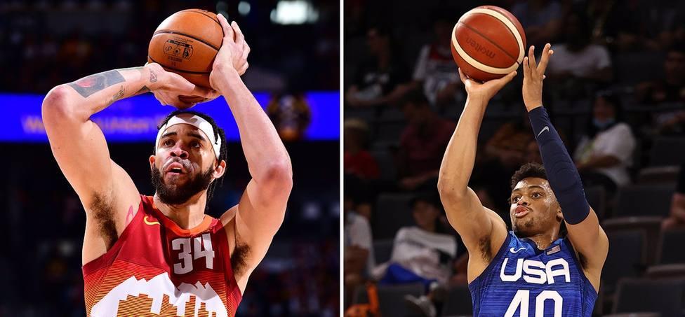 McGeee y Johnson completan el equipo estadounidense de baloncesto para Tokyo 2020