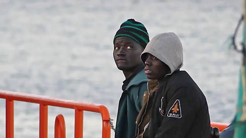 204 migrantes subsaharianos son rescatados por Marruecos en el Atlántico