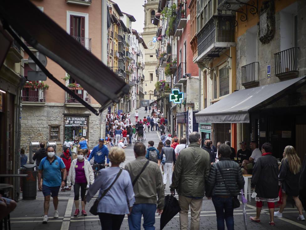 Navarra pedirá de nuevo a la justicia la aplicación del toque de queda