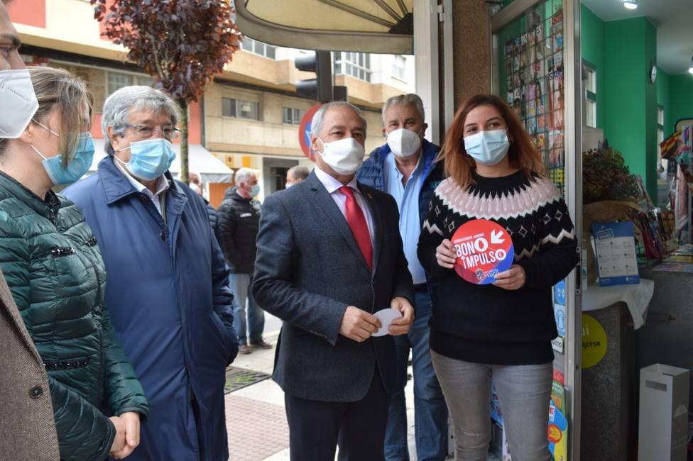 La Diputación puso en marcha los bonos Impulso para dinamizar la economía