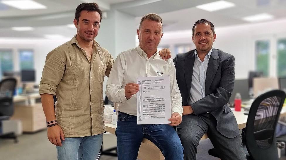 Imanol Sánchez, Jose Antonio Visús y Alberto Joven ante la sentencia favorable del torero