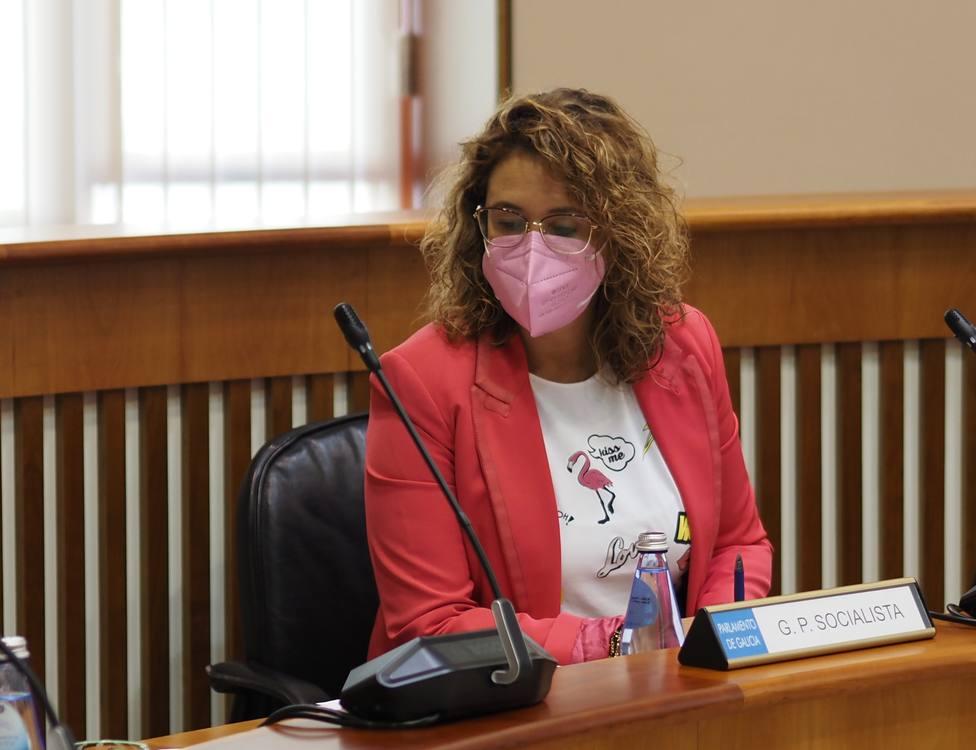 La portavoz de Infraestructuras del Grupo Socialista, Patricia Otero. FOTO: PSOE