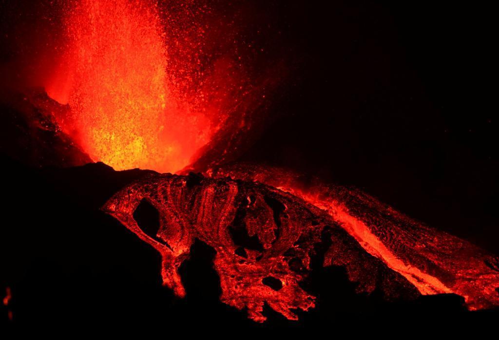 Los drones son fundamentales para entender la evolución de la erupción volcánica