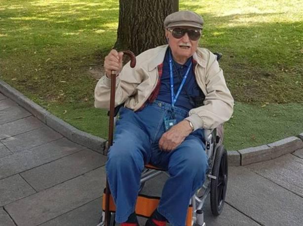 Cumplir a los 98 el sueño de su vida: viajar desde Milán a Pekín en el Transiveriano