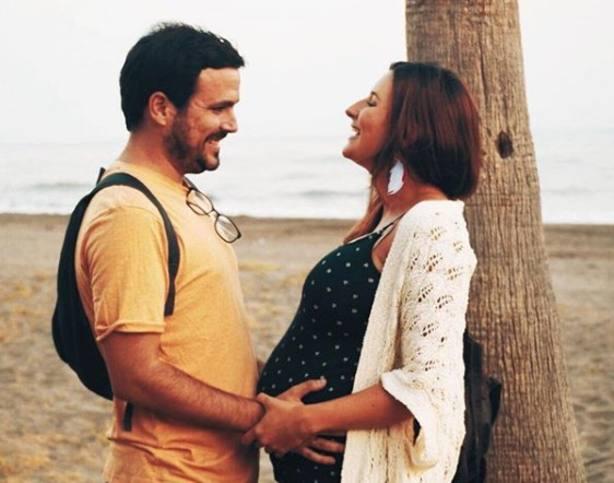 Alberto Garzón ha sido padre de Olivia, su primera hija