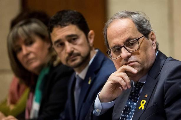 Torra se indigna por la condena del Tribunal de Cuentas a Mas