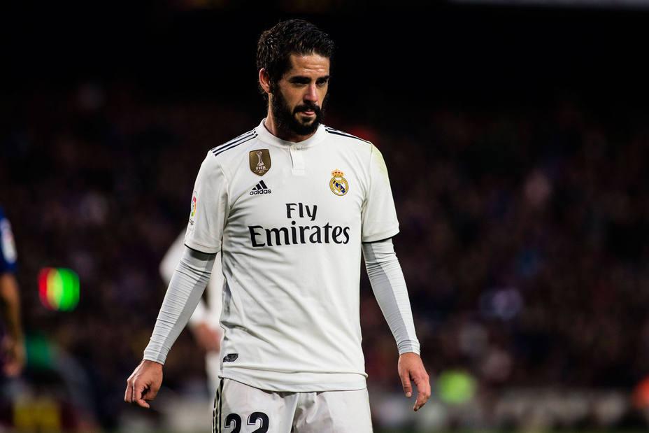 Isco, jugador del Real Madrid (Cordonpress)