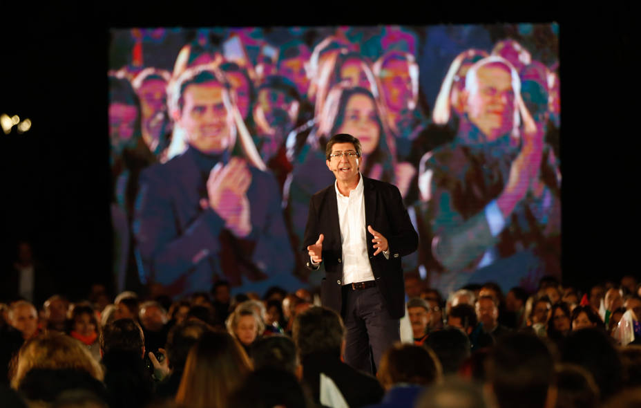 Marín anima a salir a votar en masa el domingo para decirle al PSOE y PP que se le acabó el chollo
