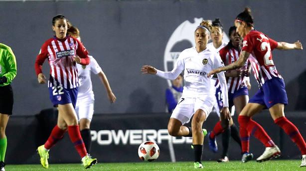 El Atlético de Madrid goleó al Valencia en la Liga Iberdrola (@LaLiga)