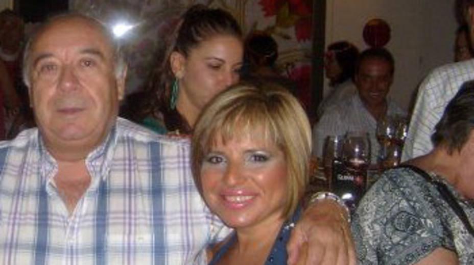 Vicente García Estop y su hija Marian en una foto de archivo