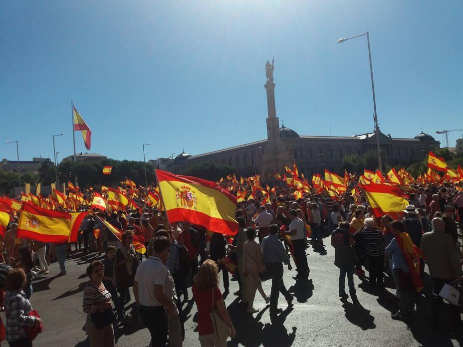 PP, Cs y Vox convocan a miles de personas este domingo en Madrid por una España unida y para pedir elecciones ya