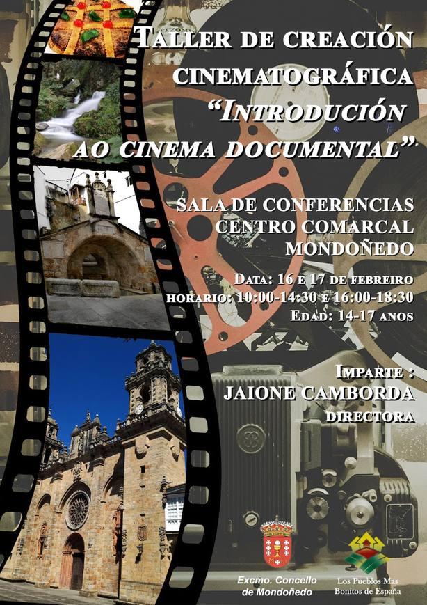 Talle cine en Mondoñedo