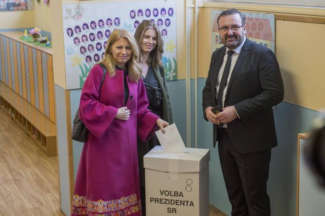 La abogada Zuzana Caputova se impone en la primera vuelta de las elecciones en Eslovaquia