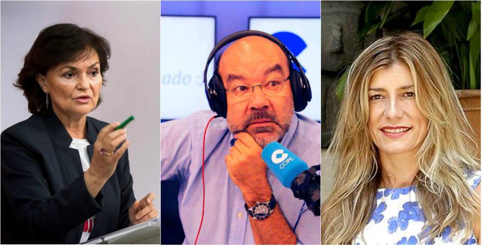 """El recado de Expósito a Calvo y la esposa de Sánchez por """"tener la boca cerrada"""" con el caso de María Sevilla"""