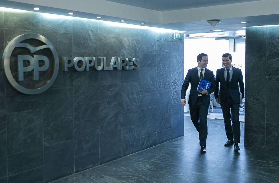 García Egea asegura que el PP estará en todos los debates y que estudiarán el formato y quién los representa