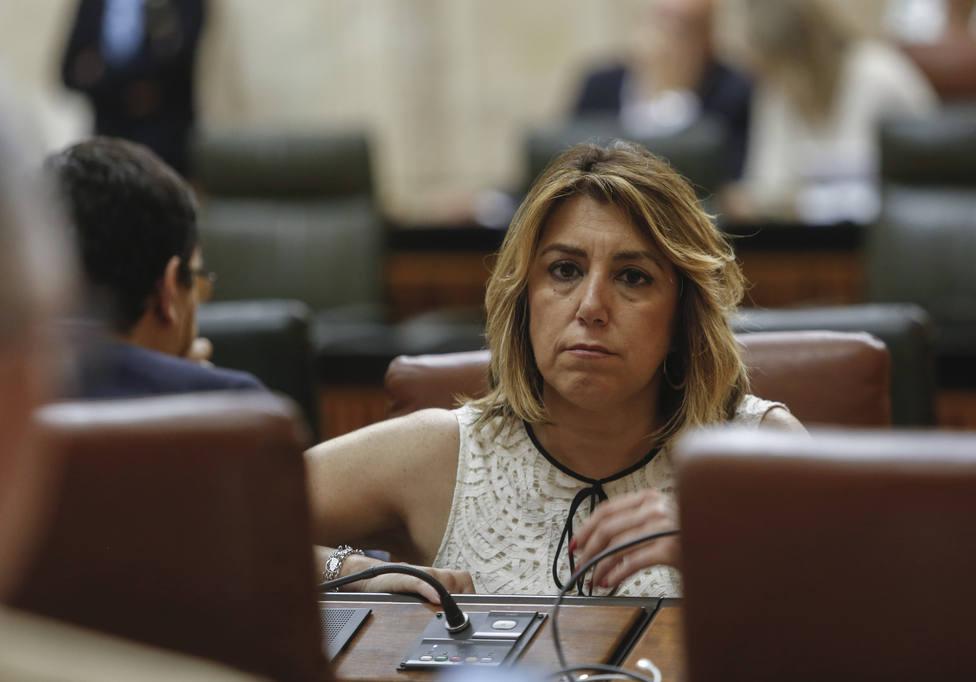 Susana Díaz ve el veto a Iceta un mal precedente, con el que independentistas vuelven a encanallar la vida pública