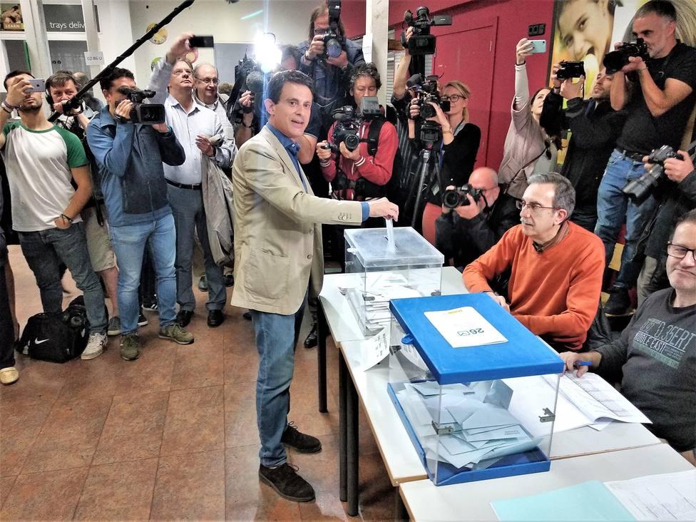 Valls (BCN Canvi-Cs) espera que sea el gran día del cambio en Barcelona