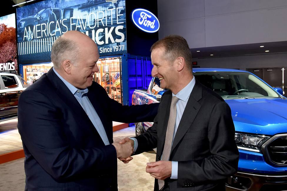 Volkswagen y Ford, cerca de sellar su acuerdo de cooperación en conducción autónoma