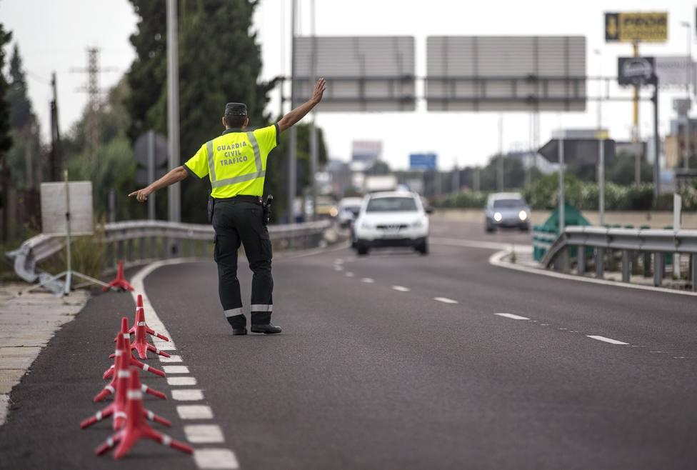 Mayor control en la carretera por motivo de las fiestas patronales