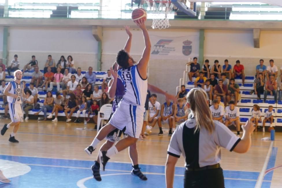 Partido del trofeo Diputación de Baloncesto