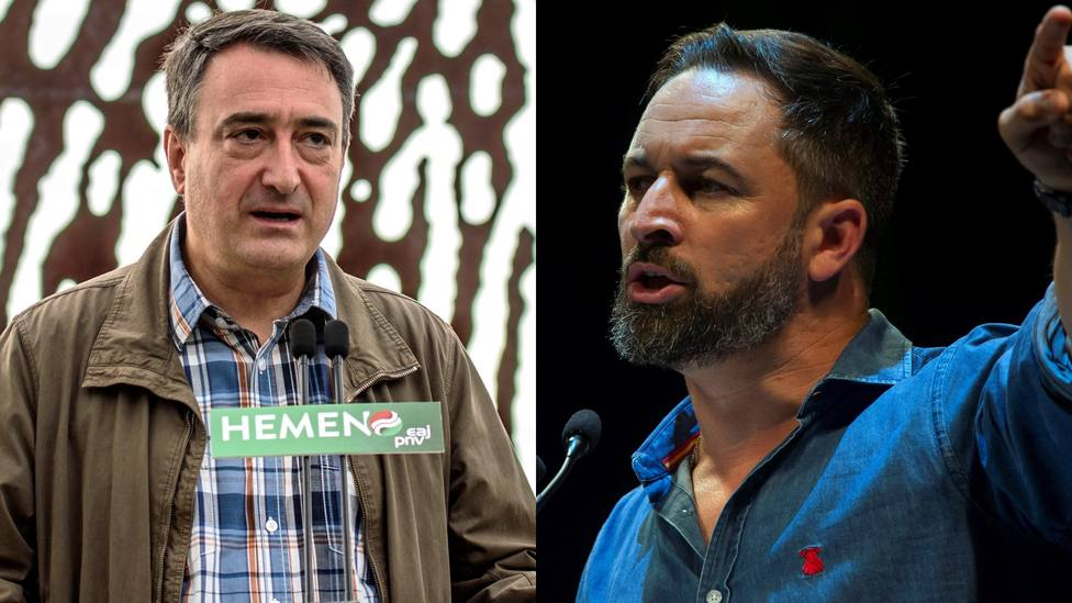 Abascal tira de ETA para humillar al PNV tras su 'cobra' en el debate de portavoces