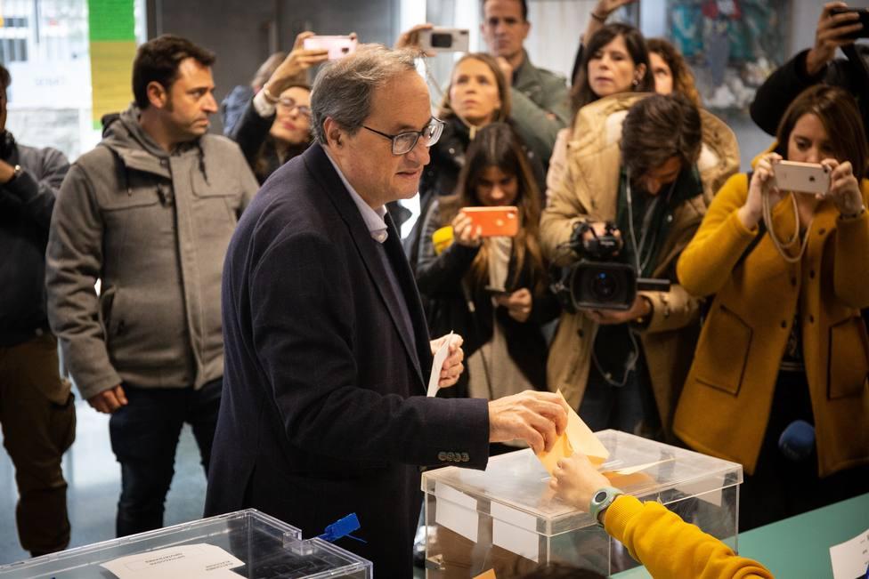 Torra llama a ir a las urnas porque es el terreno de juego de los catalanes