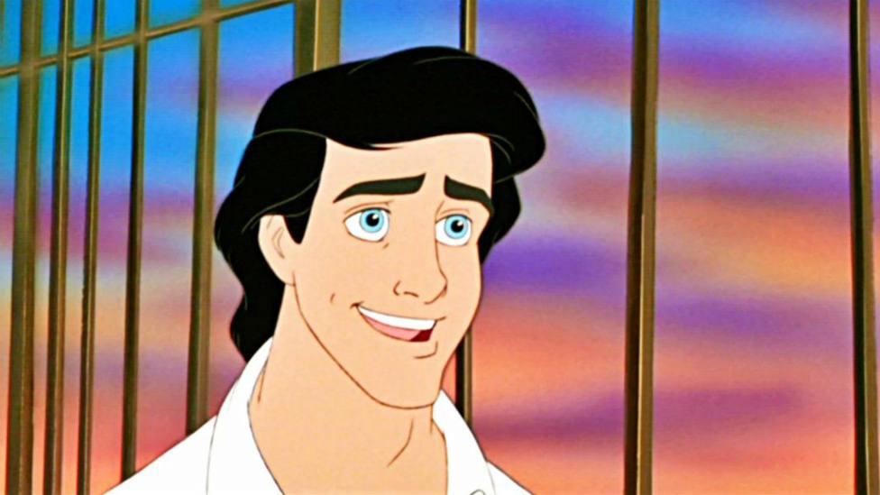 El príncipe Eric de La Sirenita