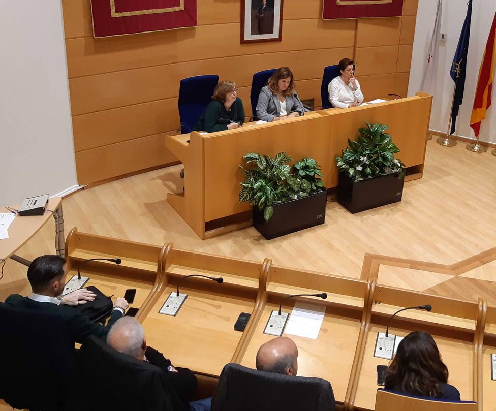 La sesión ordinaria del pleno de diciembre en el concello de Narón
