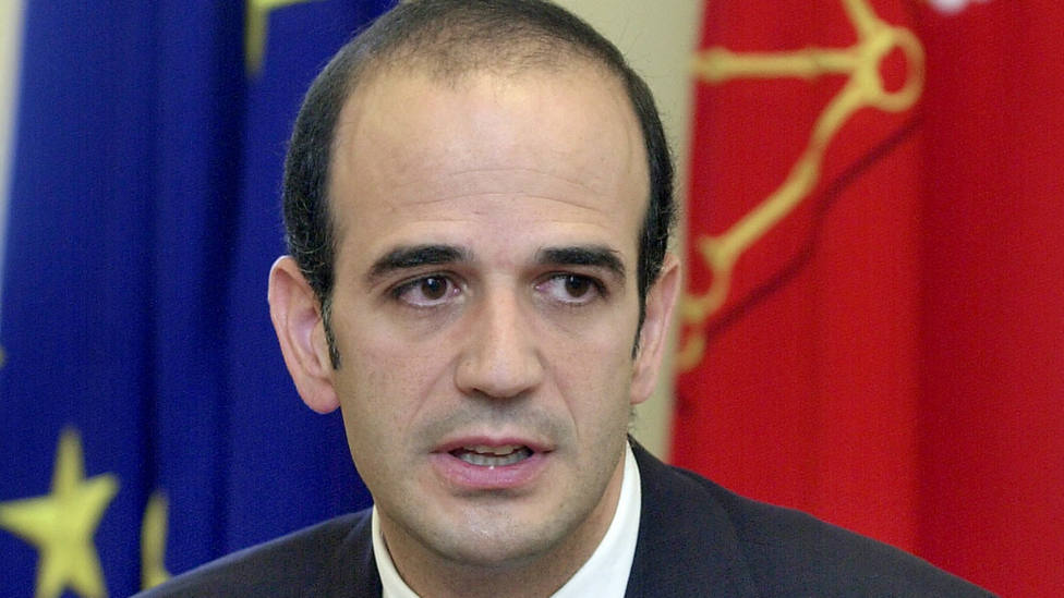 Alberto Catalán, senador de UPN