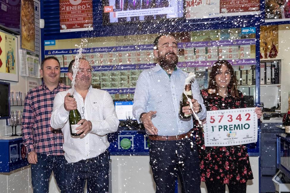 Administración de lotería número 10 de Lorca, El Maravillas