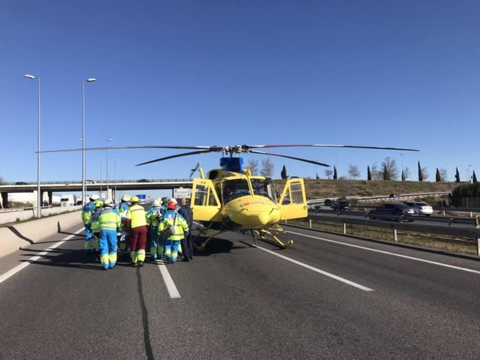 Una decena de personas, la mitad de ellas motoristas, perdió la vida este fin de semana en las carreteras españolas