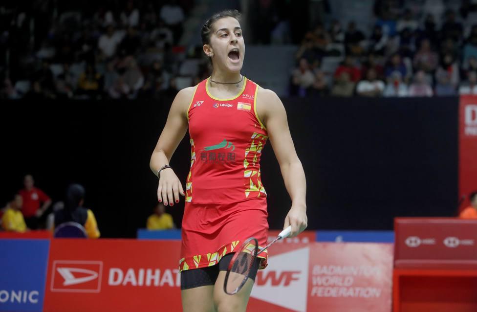 Carolina Marín avanza en el Masters de Indonesia tras ganar a Okuhara