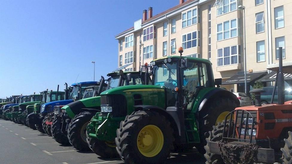 Tractorada en Valencia